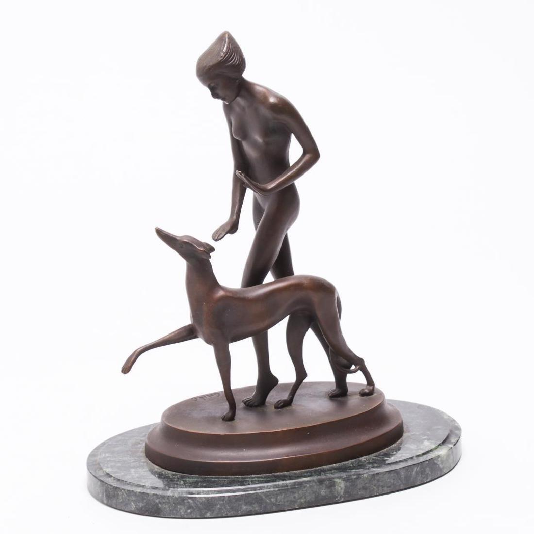 Ignacio Gallo (Spanish, d. 1935)- Art Deco Bronze