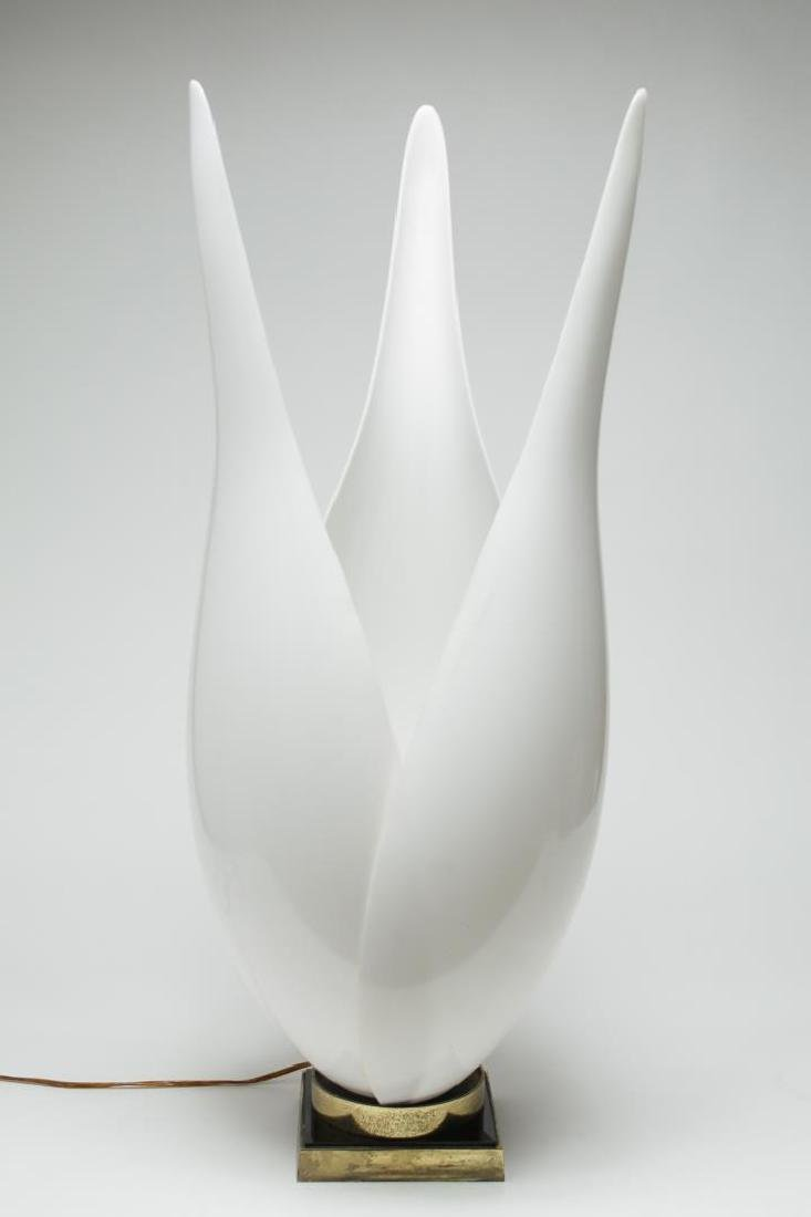"Rougier Modernist ""Tulip"" Lamp, Vintage"