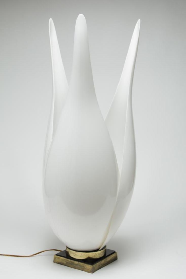 "Rougier Modernist ""Tulip"" Lamp, Vintage - 2"