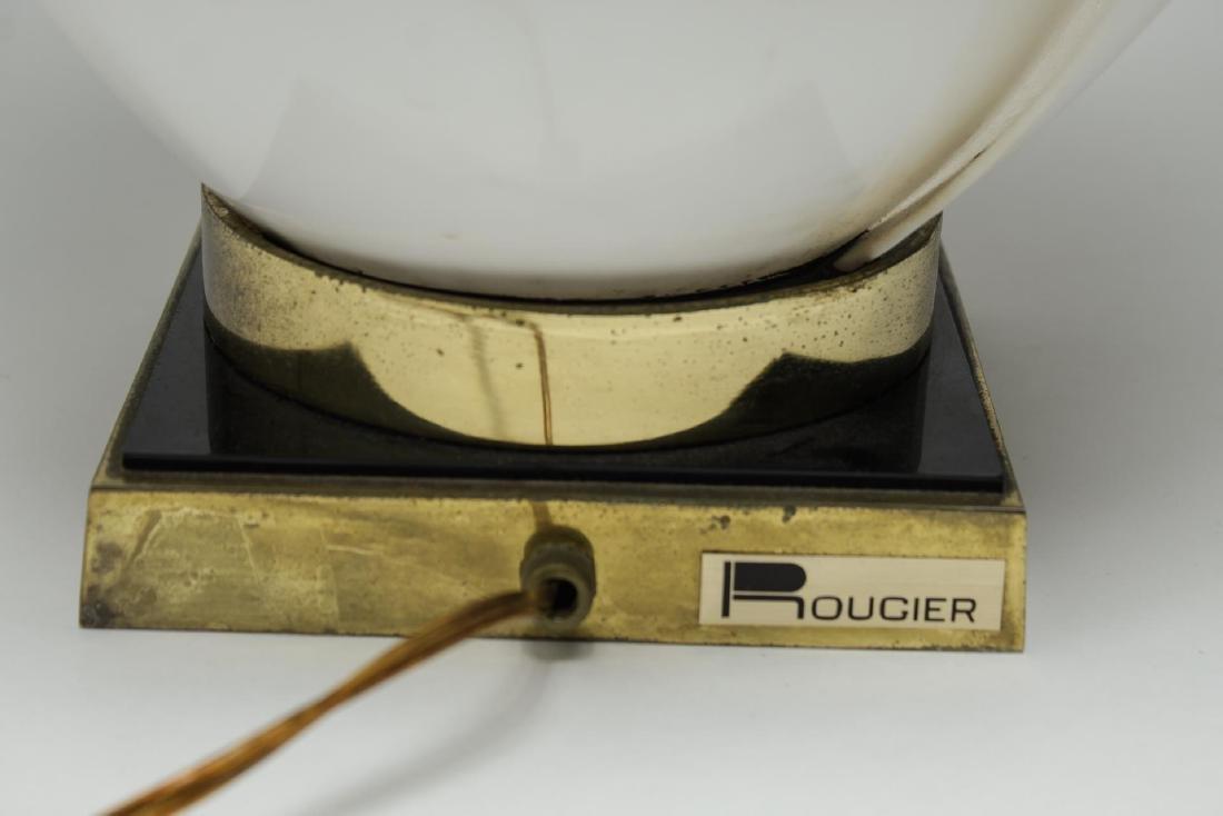"Rougier Modernist ""Tulip"" Lamp, Vintage - 3"