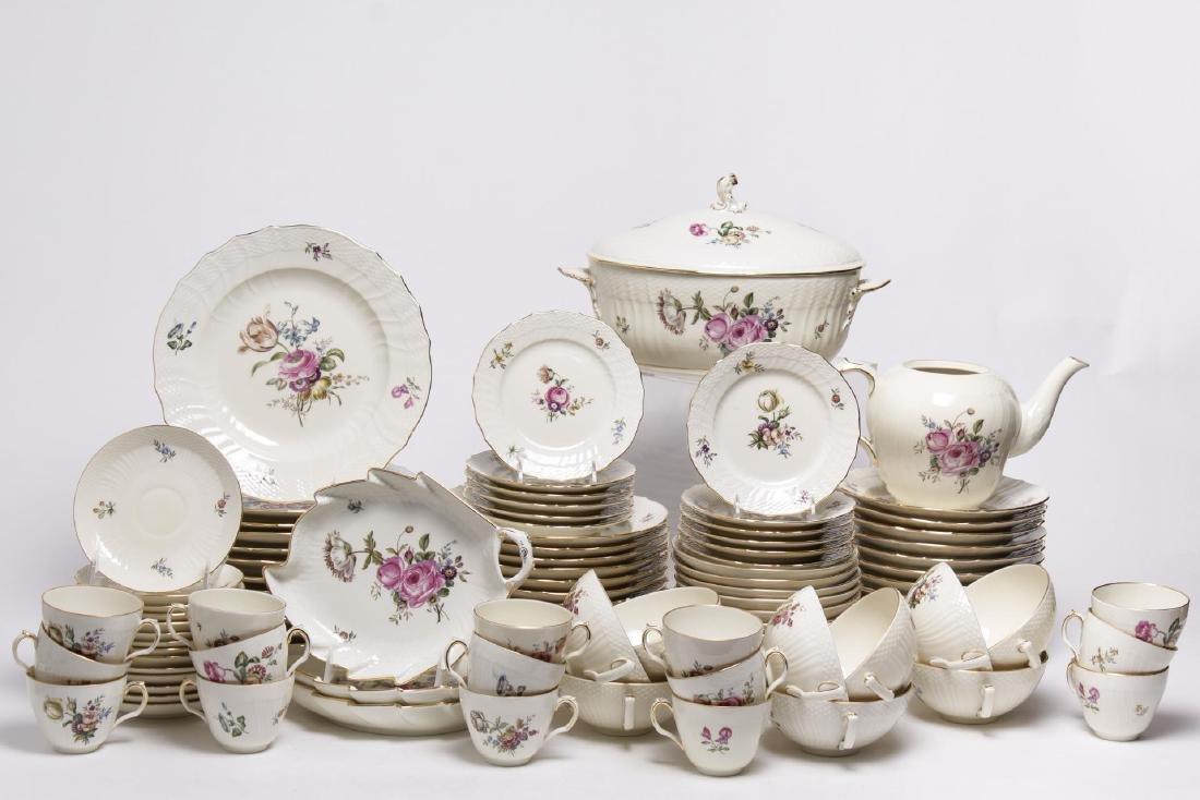 "Royal Copenhagen ""Frijsenborg"" Porcelain Service"