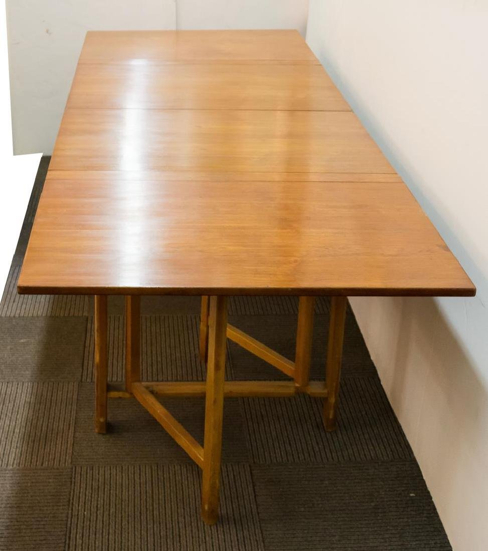 Bruno Mathsson Scandinavian Modern Dining Table - 5