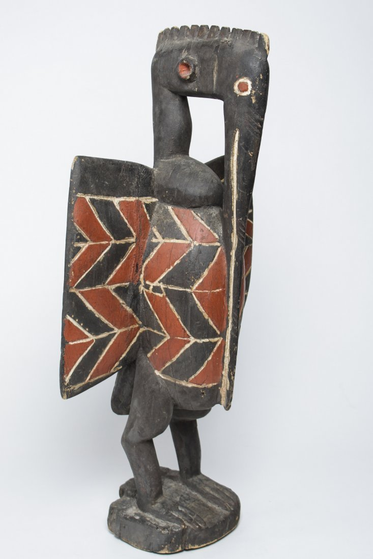 Senufo People, Ivory Coast African Bird Sculpture