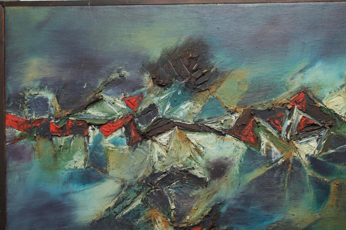 Gulam Rasool Santosh (India, 1929-1997)- Oil - 2