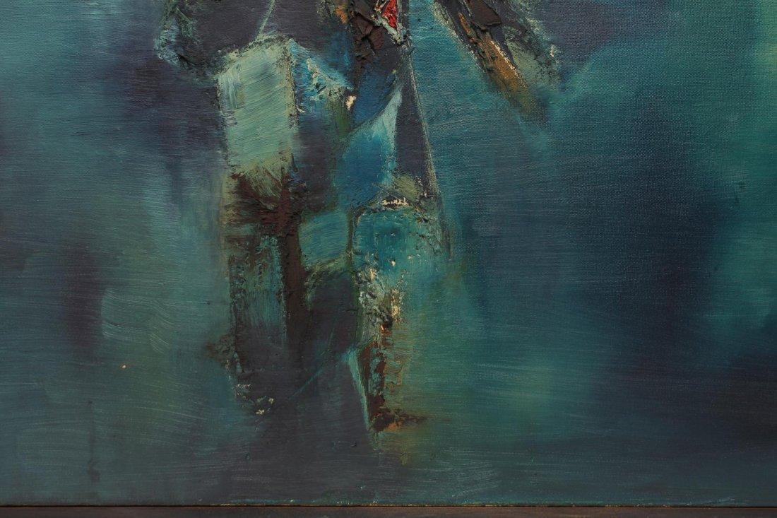 Gulam Rasool Santosh (India, 1929-1997)- Oil - 3
