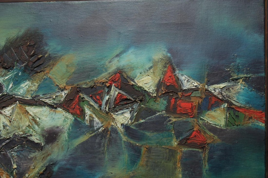Gulam Rasool Santosh (India, 1929-1997)- Oil - 4