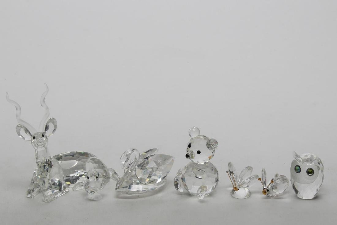 Swarovski Crystal Animal Figurines, 7
