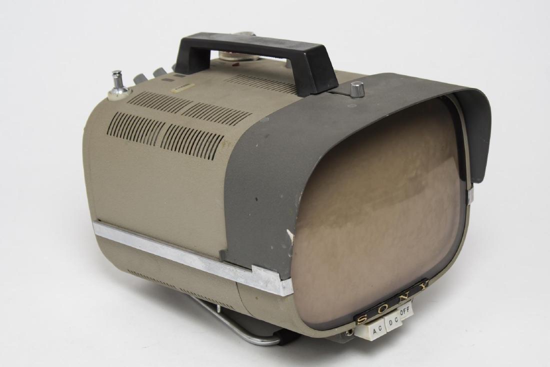 Sony 8-301W Micro B/W Television Set, Vintage 1961