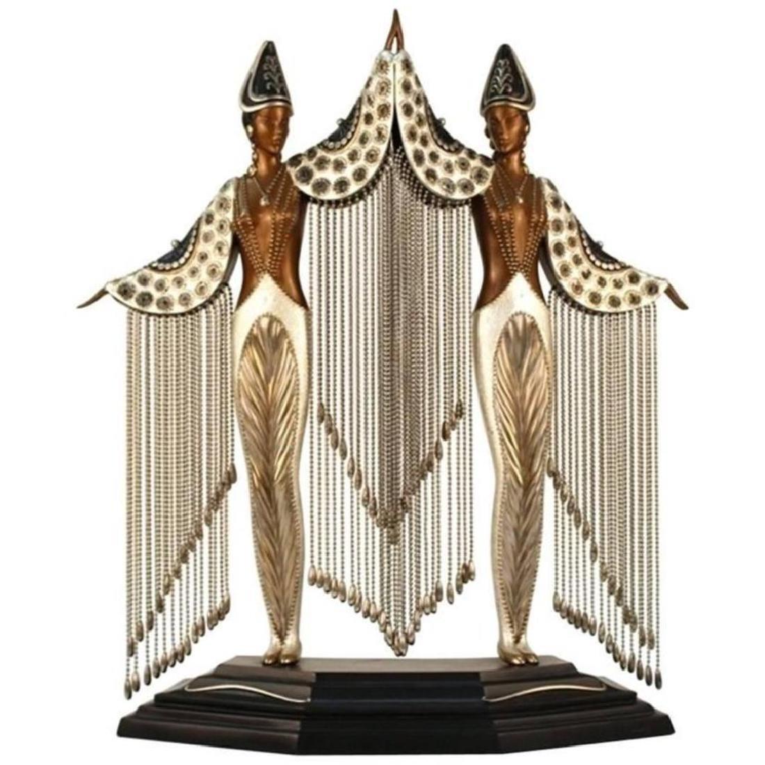Erte (Russian, 1892-1990)- Bronze Sculpture