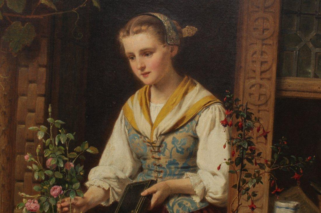 August Friedrich Siegert (German, 1820-1883)- Oil - 3
