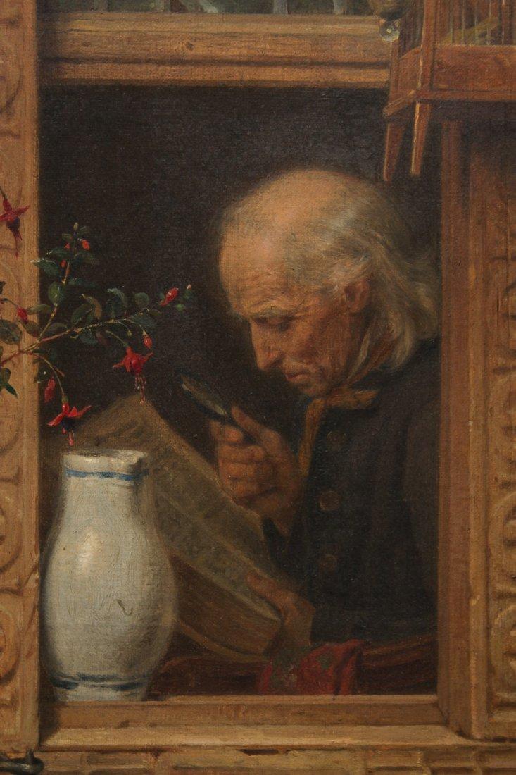August Friedrich Siegert (German, 1820-1883)- Oil - 4