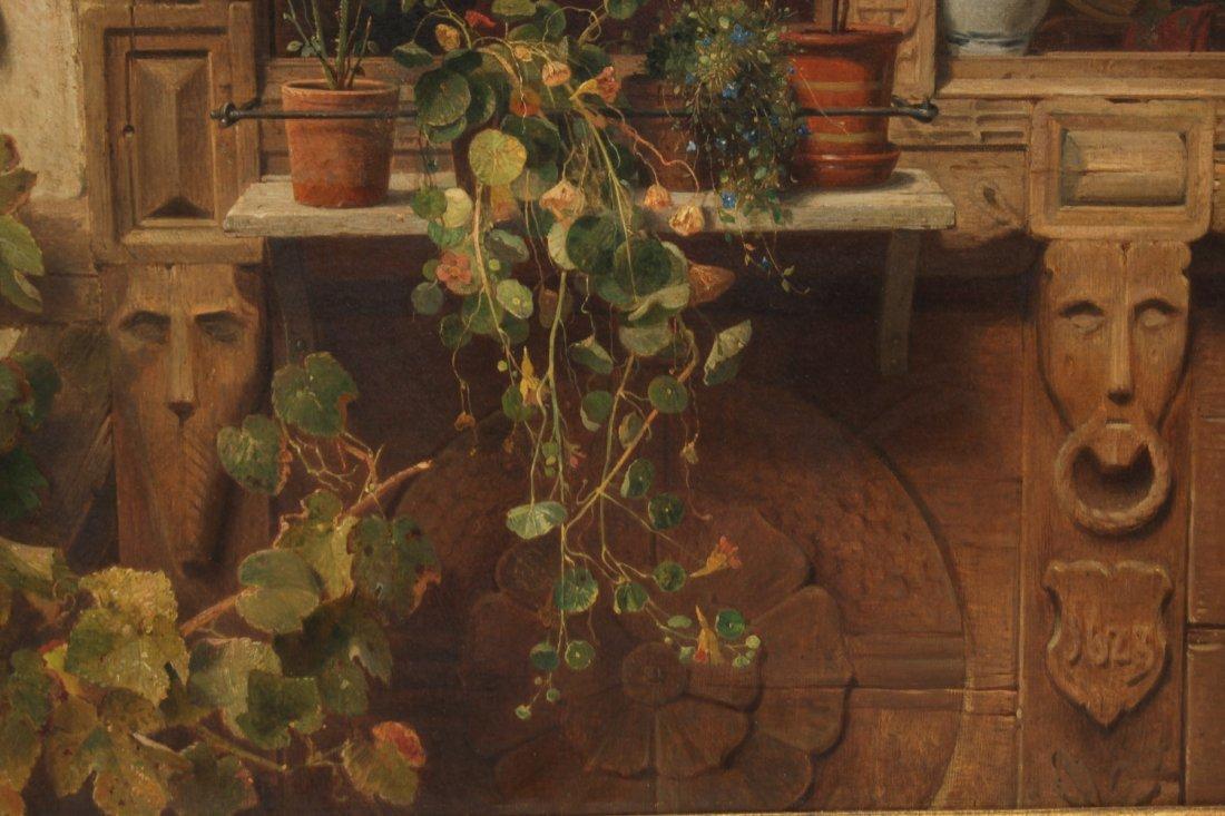 August Friedrich Siegert (German, 1820-1883)- Oil - 5