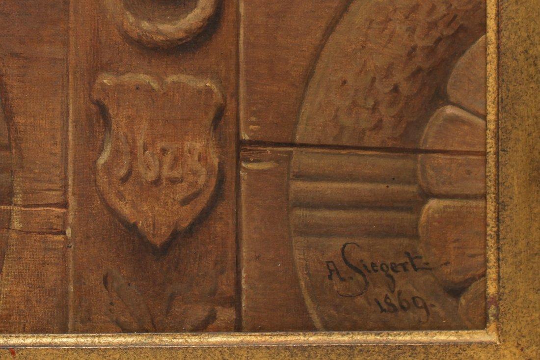 August Friedrich Siegert (German, 1820-1883)- Oil - 6