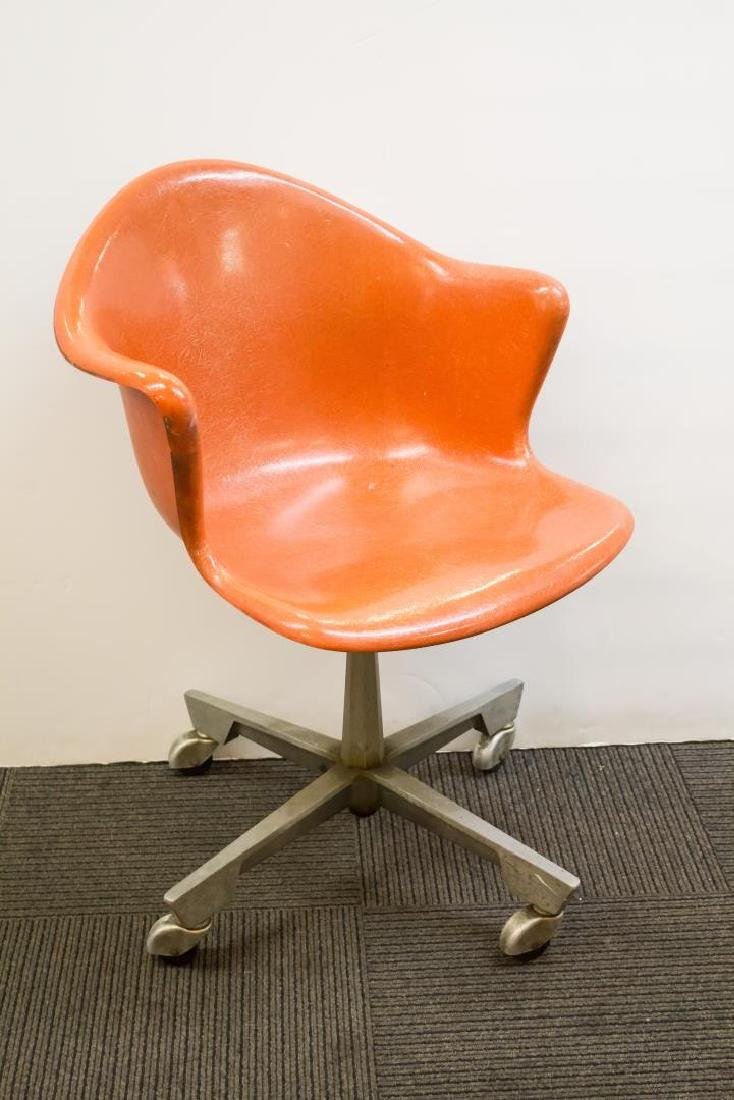 Mid-Century Modern Armchair, Eames-Manner