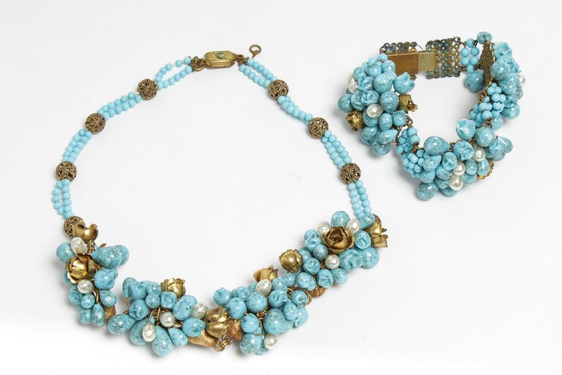 French Fruit Salad Costume Necklace & Bracelet Set