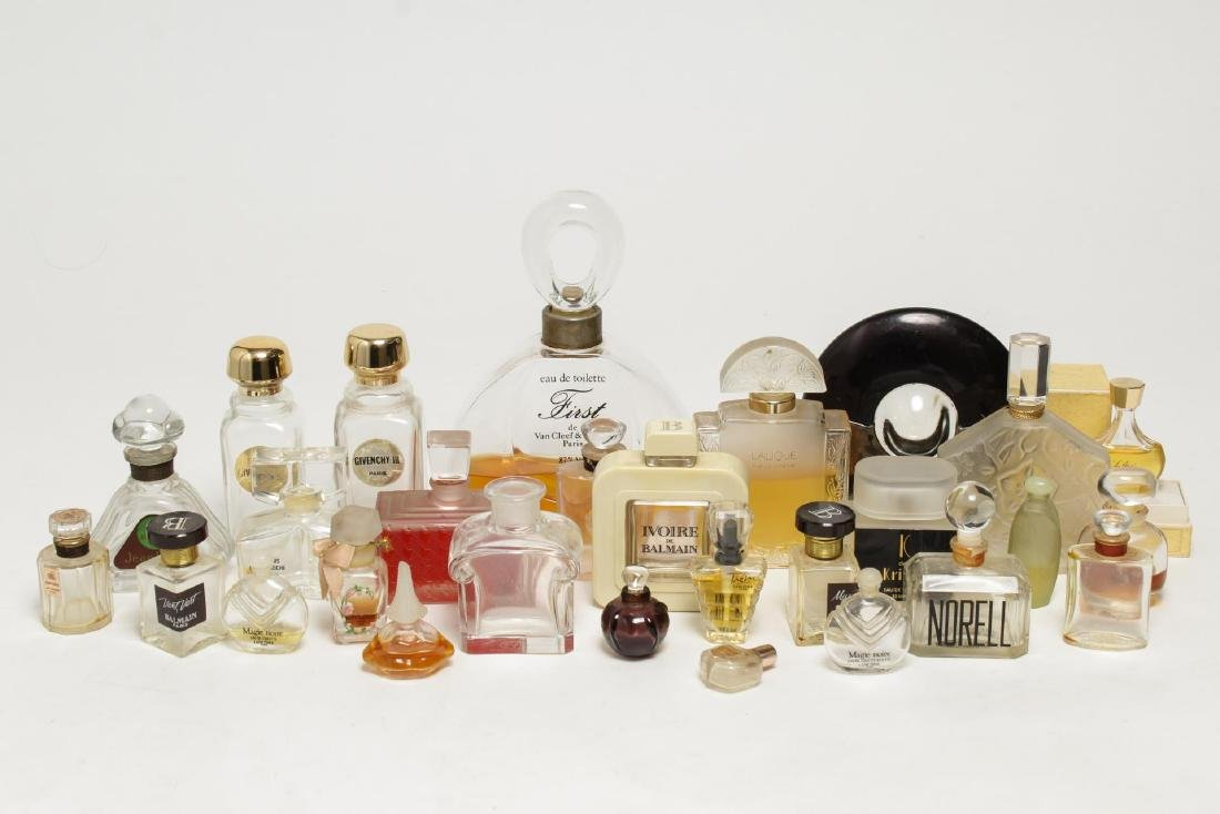Vintage Perfumes & Bottles, Group of 30