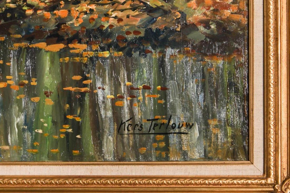 Kees Terlouw (Danish, 1890-1948)- Landscape Oil - 3