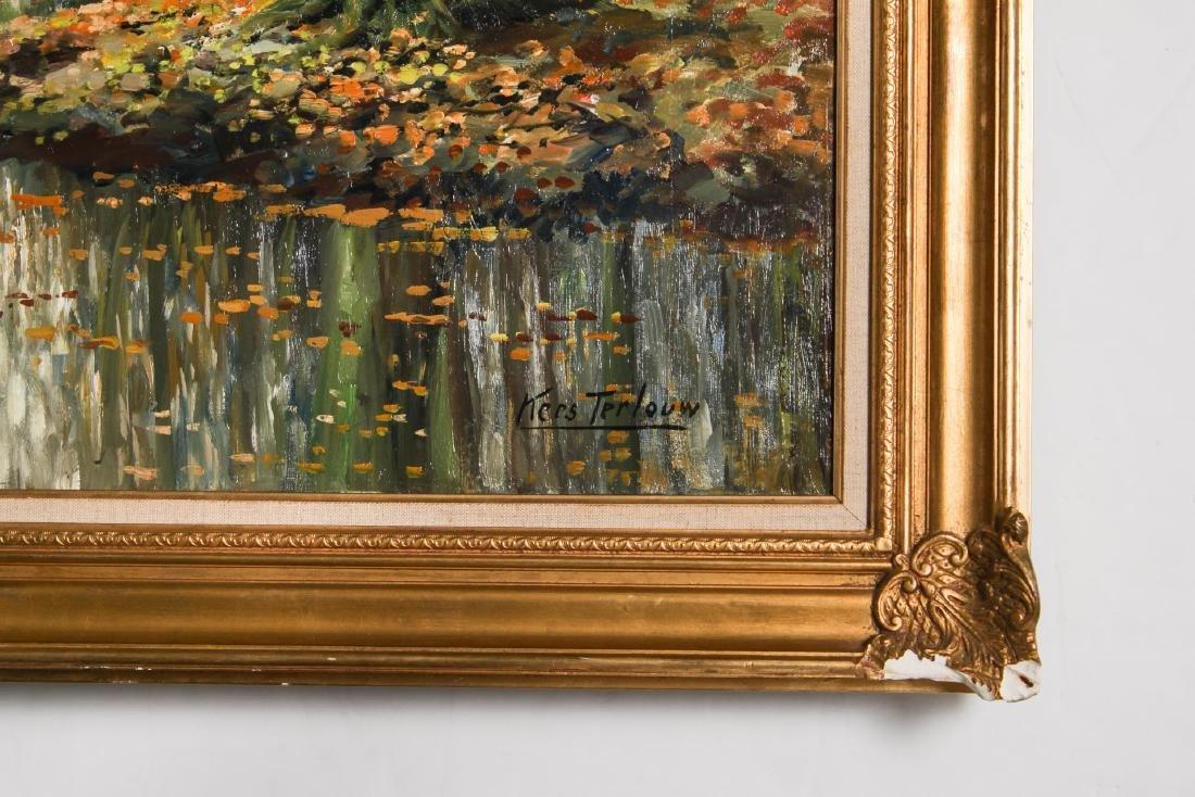 Kees Terlouw (Danish, 1890-1948)- Landscape Oil - 6