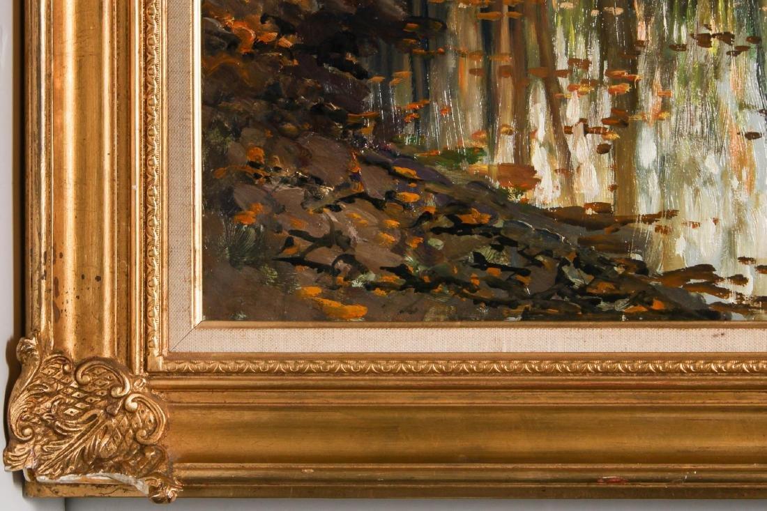 Kees Terlouw (Danish, 1890-1948)- Landscape Oil - 7