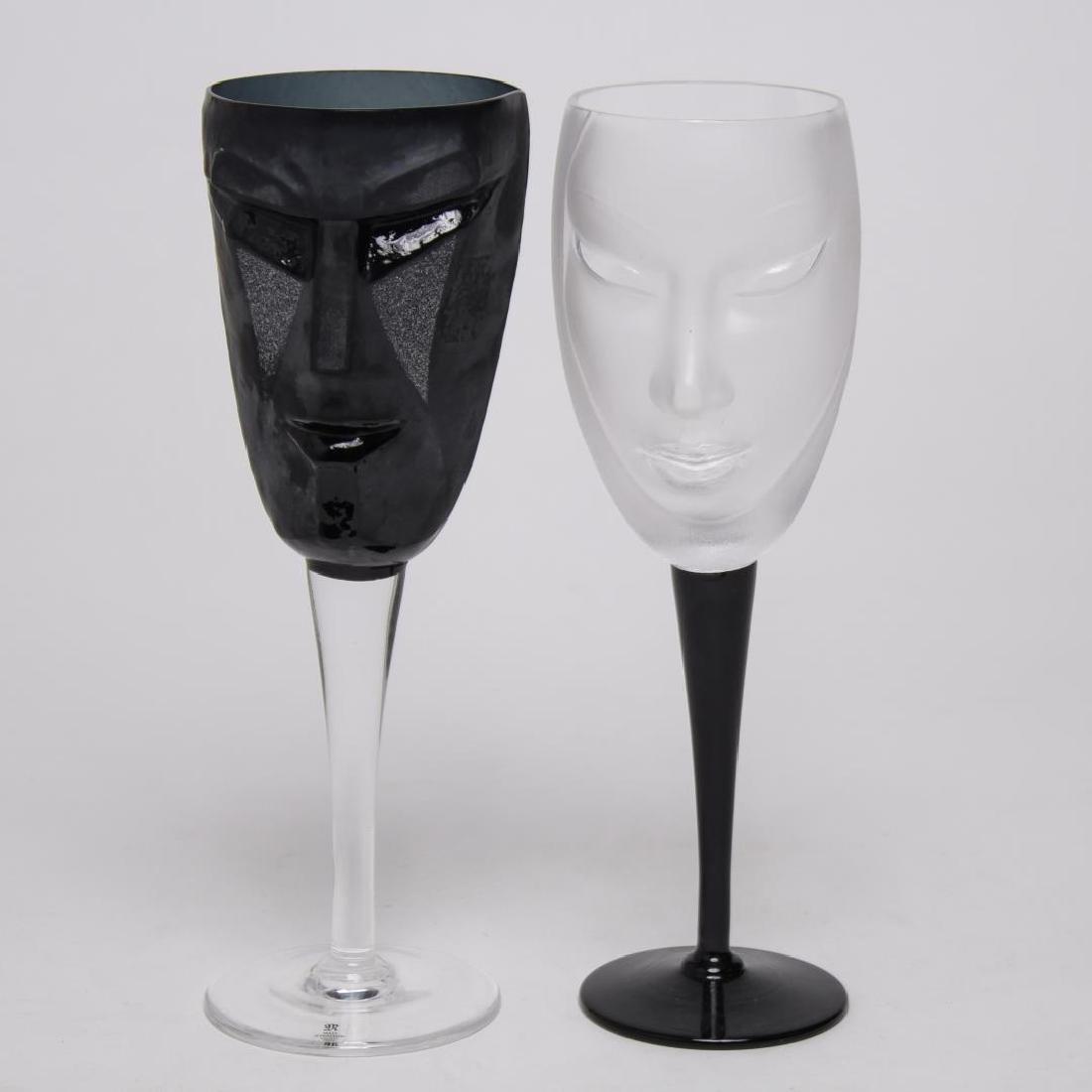 Mats Jonasson Swedish Modern Toasting Glasses, Set
