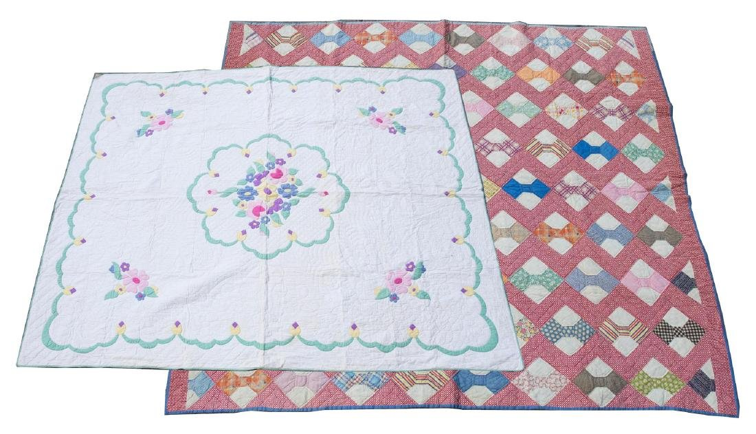 Vintage American Cotton Quilts, ca. 1910-1930