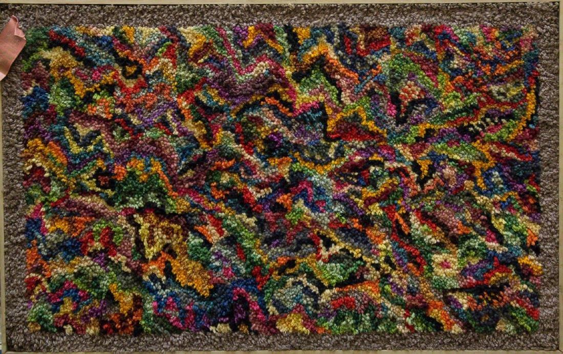 """Mid-Century Modern Tapestry, """"Variations"""""""