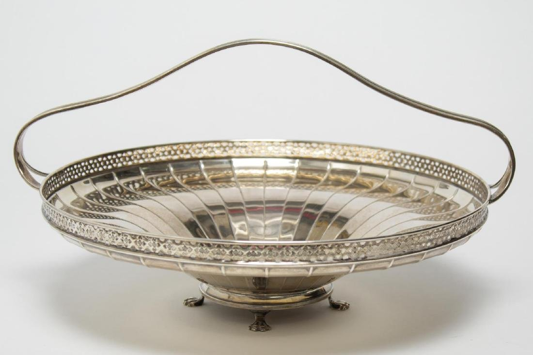 Black, Starr, & Frost Silver Centerpiece Basket