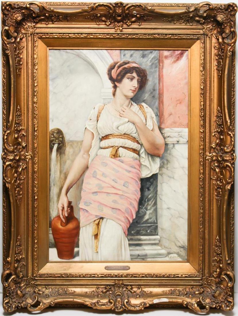 Federico Andreotti (Italian, 1847-1930)- Oil