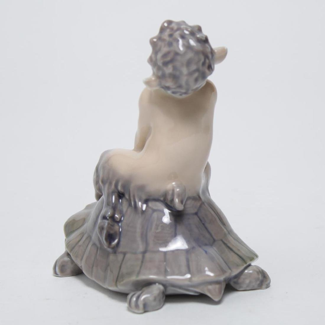 "Royal Copenhagen Porcelain ""Faun Riding Tortoise"" - 3"