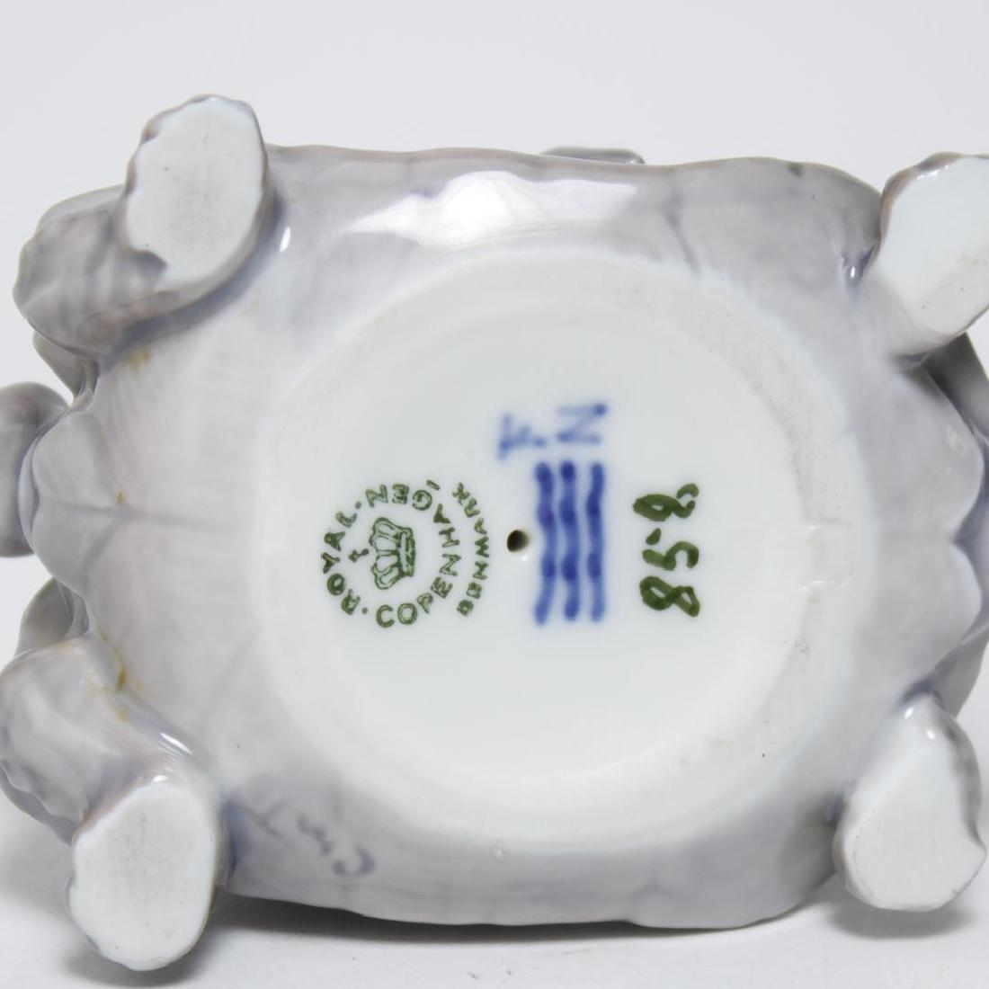 "Royal Copenhagen Porcelain ""Faun Riding Tortoise"" - 6"