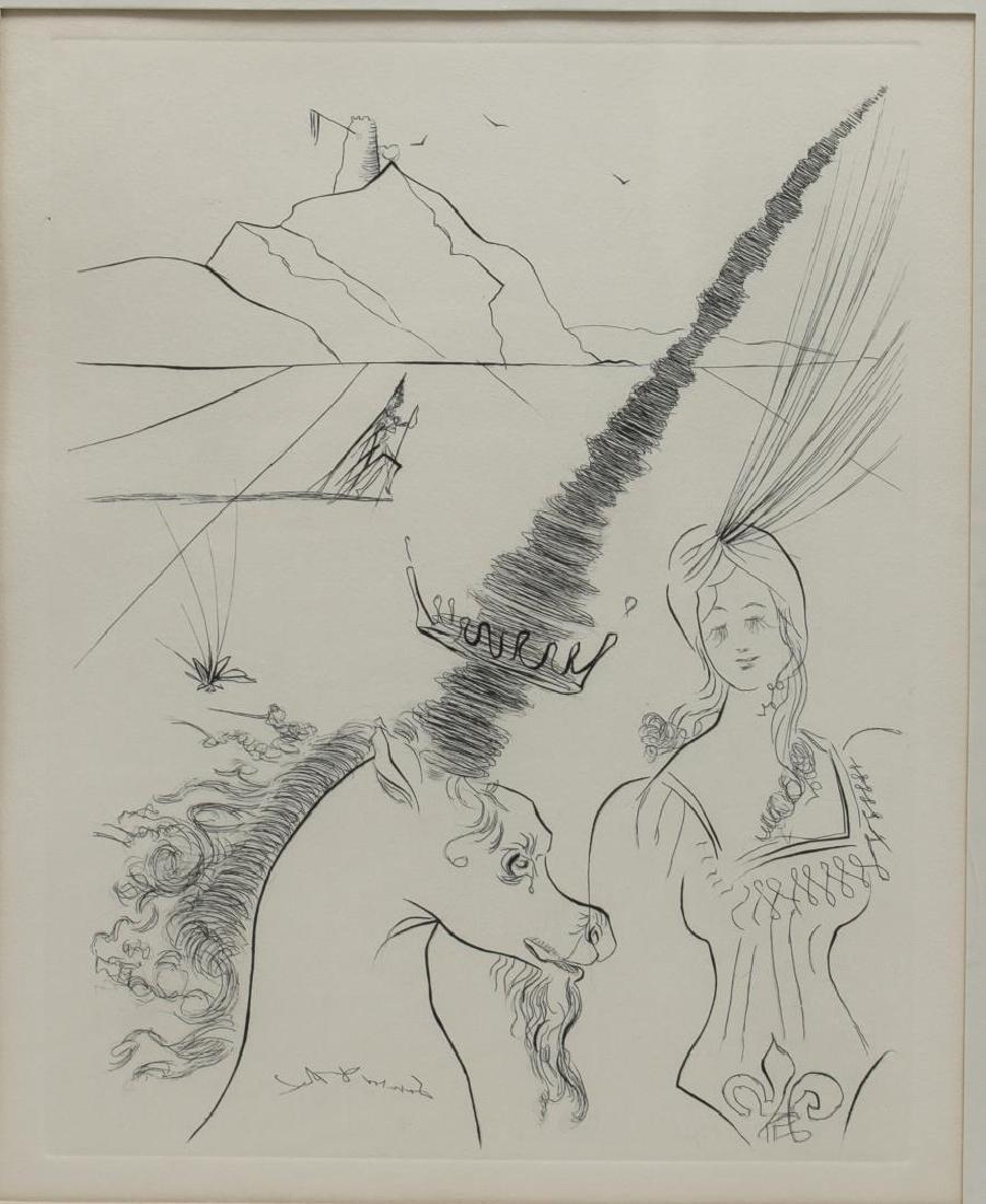 Salvador Dali (Spanish, 1904-1989)- Etching