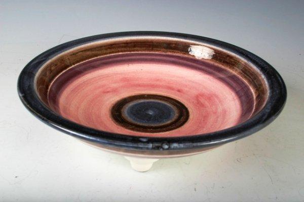 1081: Theodor Bogler Ceramic Footed Fruit Bowl 1925-192