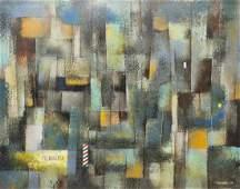 Leonardo Nierman (Mexican, b. 1932)- Mixed Media