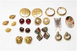 GoldTone Metal Costume Jewelry inc Chanel