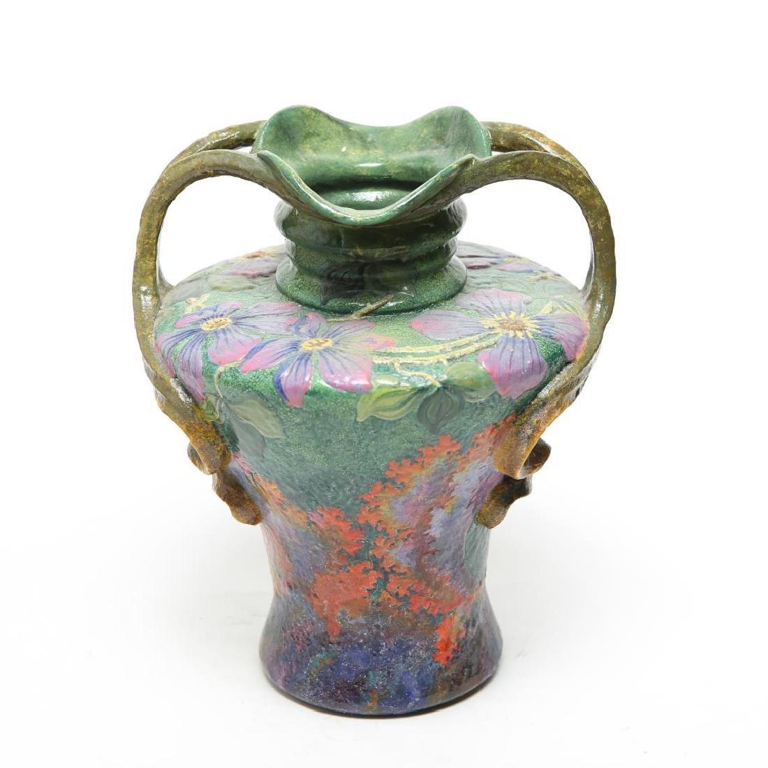 Royal Bonn Ruysdael Vase, Art Nouveau Ceramic