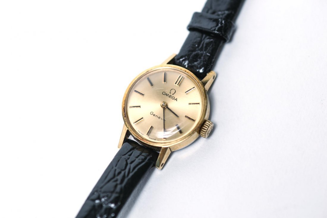 Omega Watch with Vintage 10K Gold Case