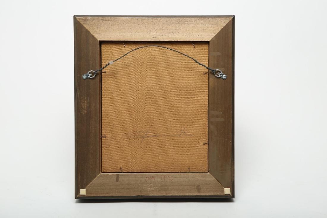 Otto Duecker (American, b. 1948)- Oil on Masonite - 3