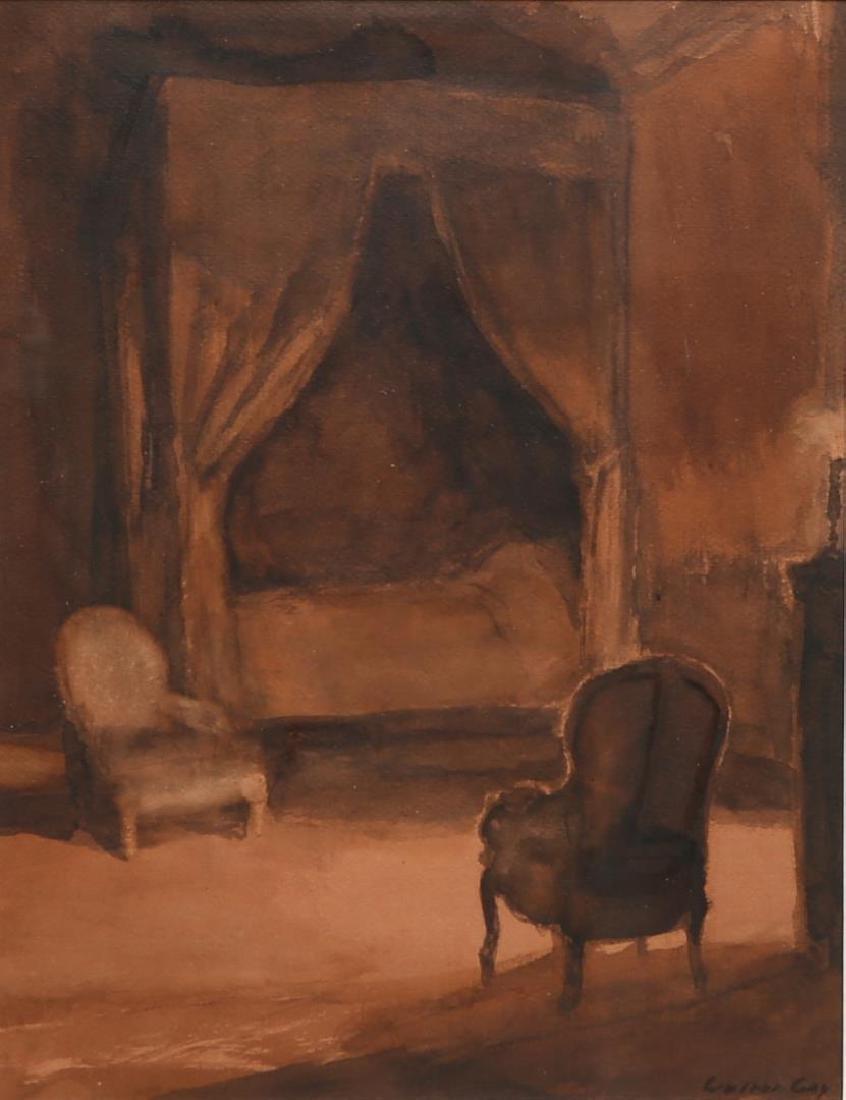 Walter Gay (American, 1856-1937)- Watercolor