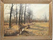 Olof Jernberg (German, 1855-1935)- Oil on Canvas