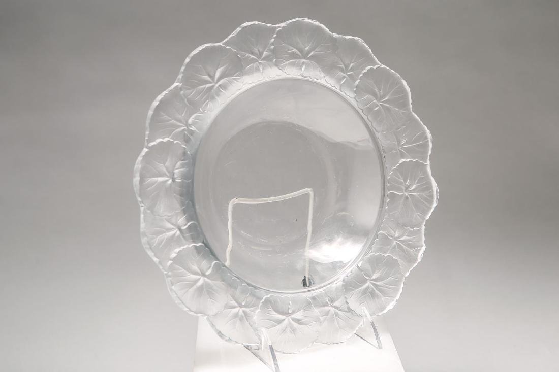 """Lalique French Crystal """"Honfleur"""" Bowl / Dish"""
