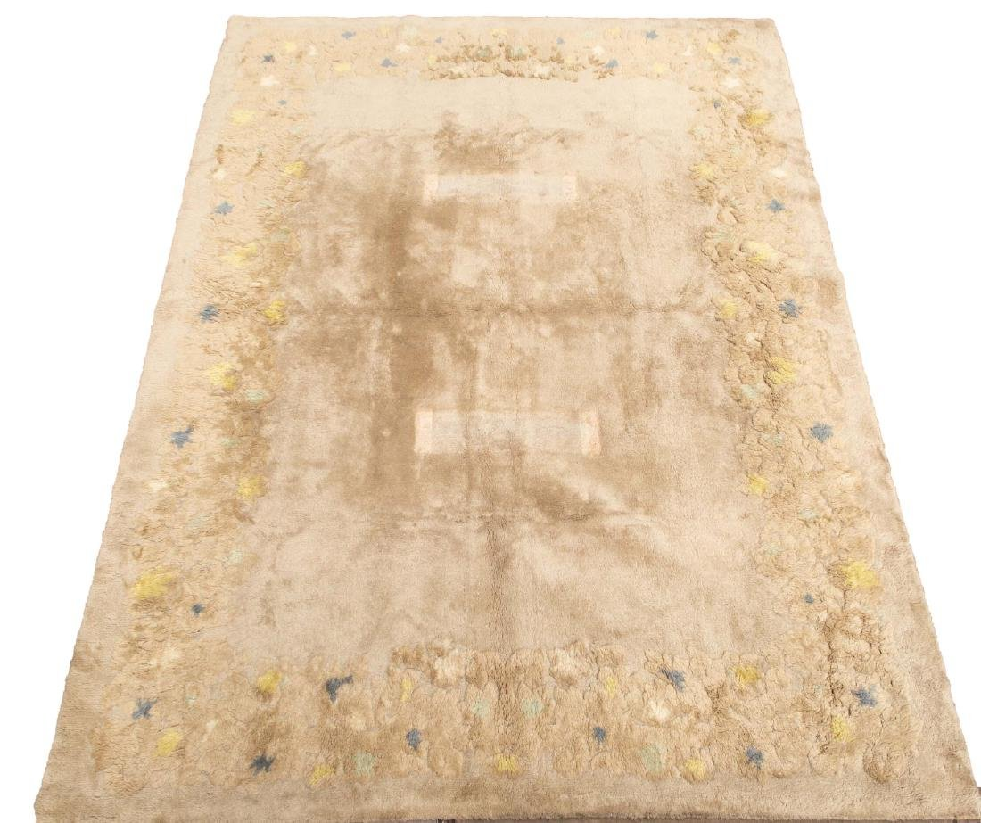 "Leleu Vintage Art Deco Carpet- 8' 10"" X 11' 9"""