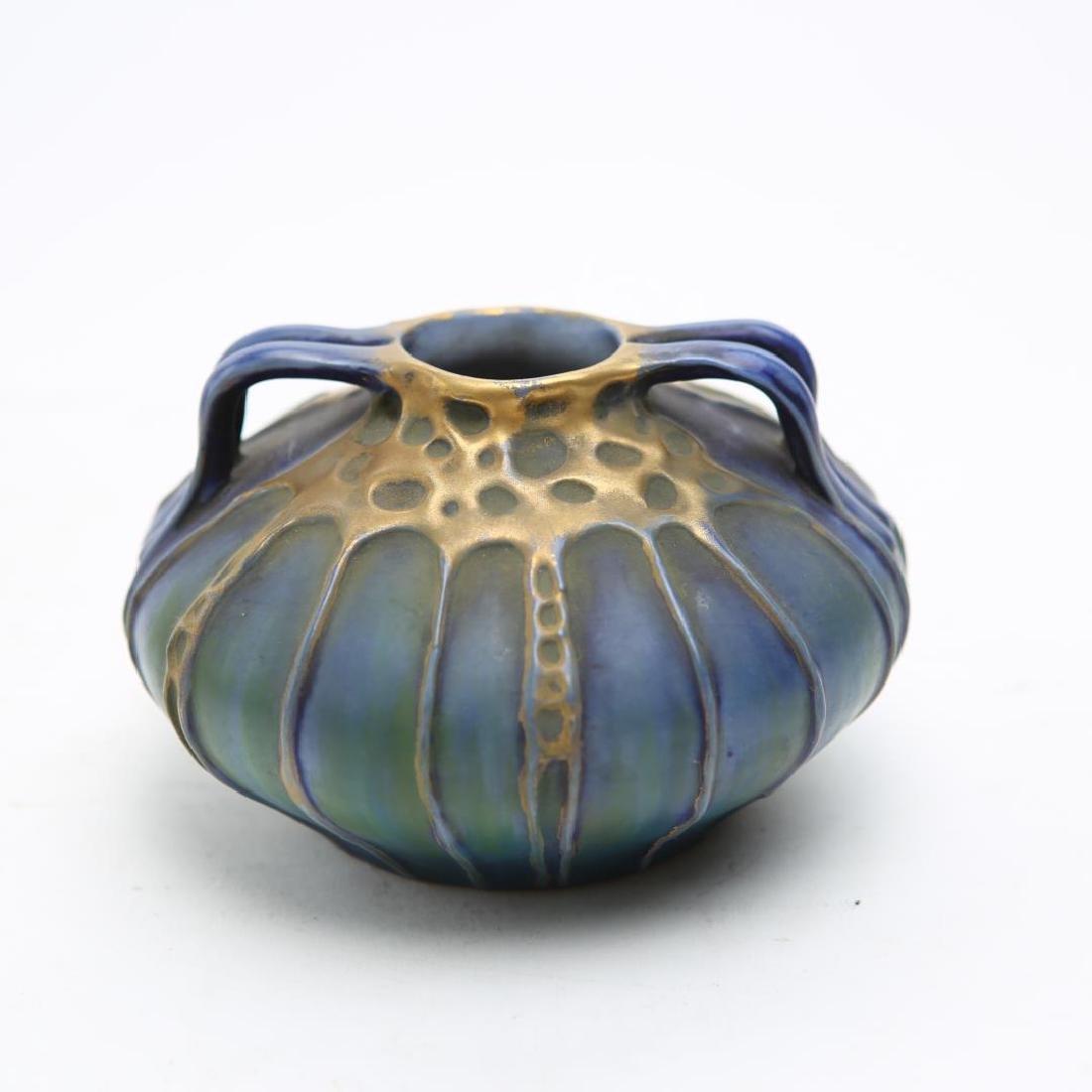 Amphora Vase, Austrian Antique Art Nouveau Ceramic