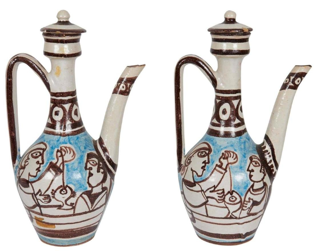 Giovanni de Simone Ewers, Italian Glazed Pottery