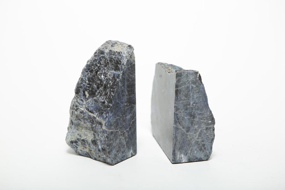Mineral Bookends, Pair Polished & Rough