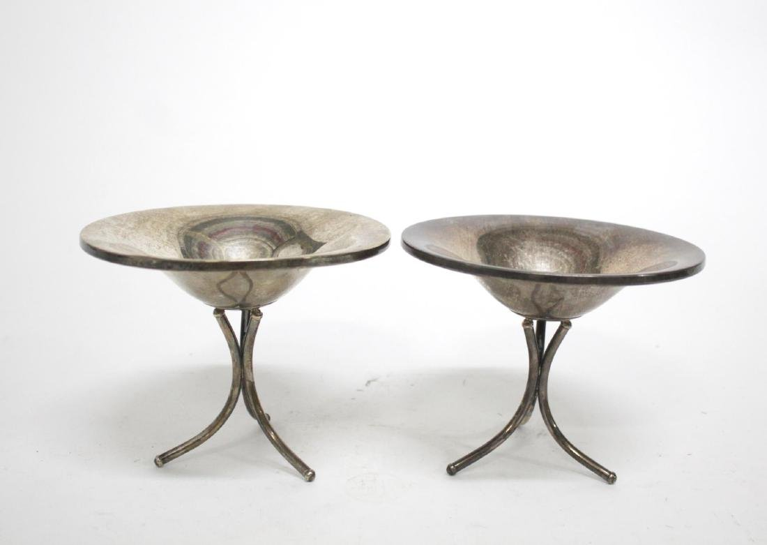 Fisher Sterling Silver Weighted Tazzas