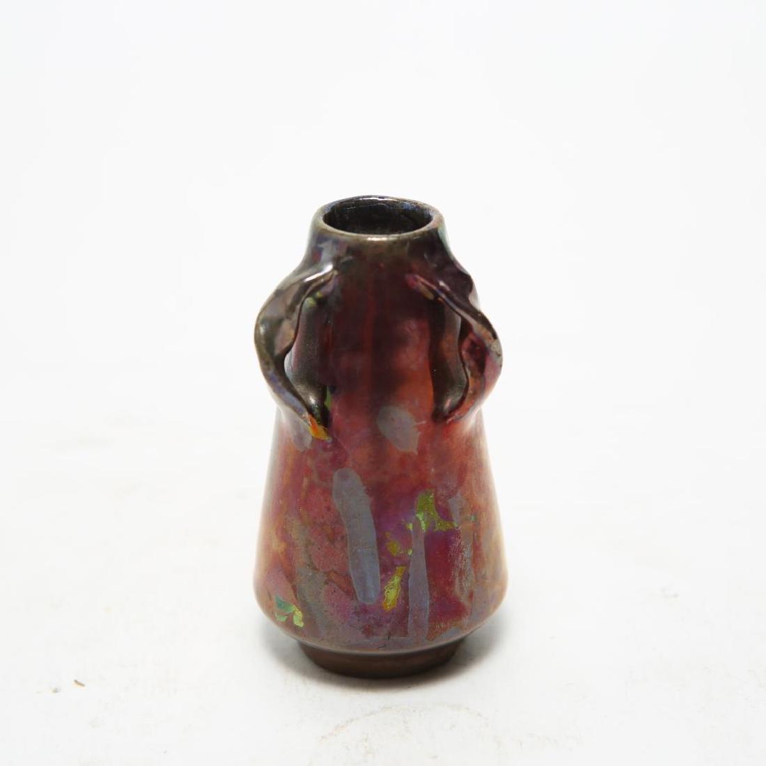 Massier Art Nouveau Glass Vase, Small