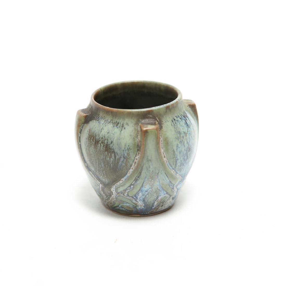 Denbac Pottery Vase, Antique French Art Nouveau