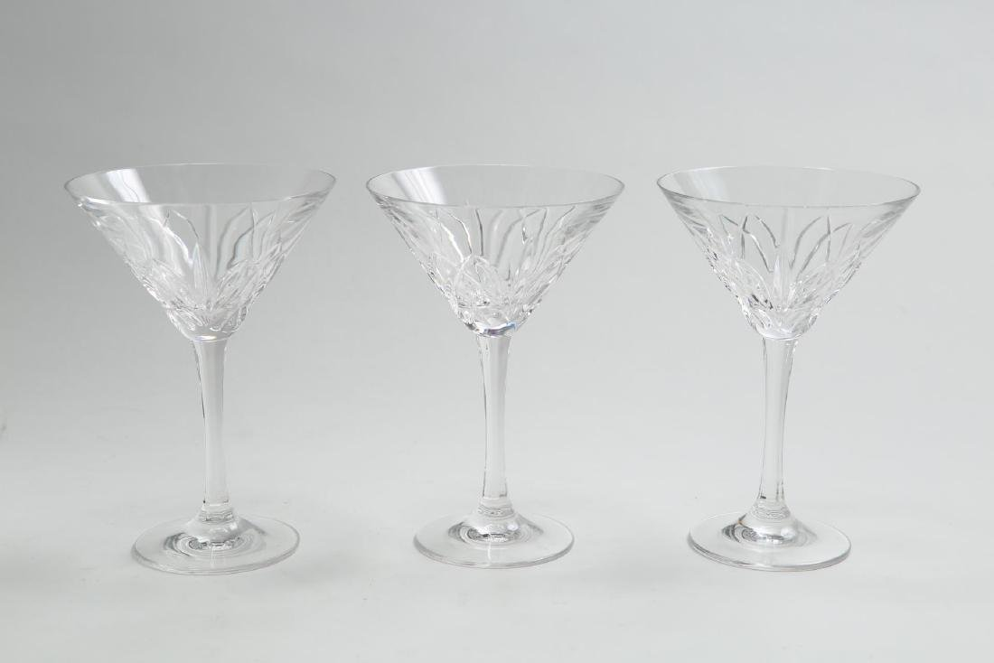 """Waterford """"Marquis"""" Crystal Martini Glasses, 3"""