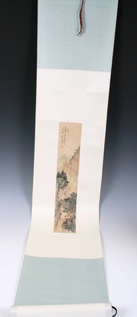 18: 20th C Chinese Landscape Scroll Painting