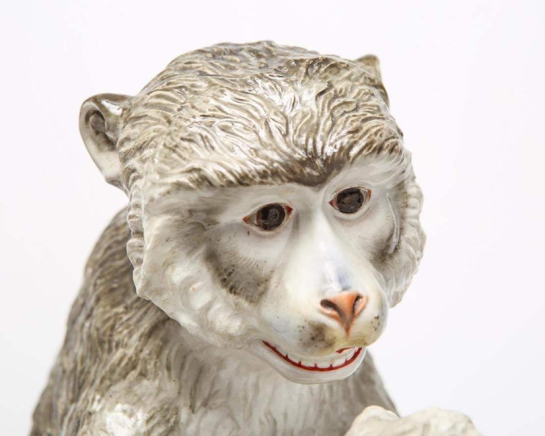 After JJ Kandler Meissen-Manner Porcelain Monkey - 2